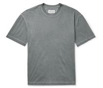 Oversized Garment-Dyed Cotton-Jersey T-Shirt