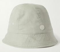 Seoul Logo-Appliquéd Cotton Bucket Hat