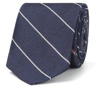 5.5cm Striped Silk-Jacquard Tie