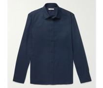 Robin Cotton and Cashmere-Blend Shirt