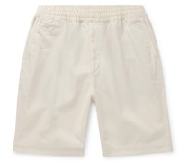 Cotton-Blend Twill Chino Shorts
