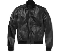 Slim-fit Leather Jacket