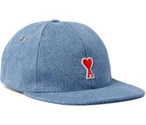 Logo-Appliquéd Denim Baseball Cap