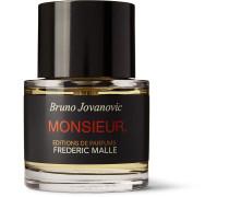 Monsieur Eau de Parfum - Rum, Patchouli, Amber, 50ml