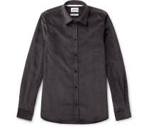 Hans Cotton-corduroy Shirt
