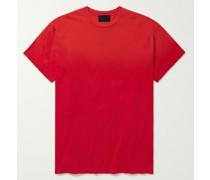 Logo-Flocked Cotton Jersey T-Shirt