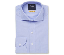 Easyday Light-blue Cutaway-collar End-on-end Cotton Shirt