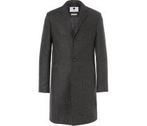 Aaron Slim-fit Wool-blend Coat
