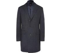 Nadim Wool-blend Jacket With Detachable Shell Gilet