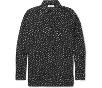 Polka-dot Voile Shirt