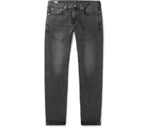 Kaihara Slim-Fit Selvedge Stretch-Denim Jeans