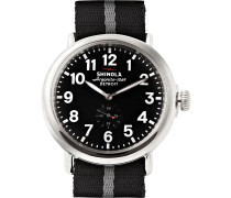 The Runwell 47mm Stainless Steel And Nylon Watch