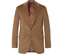 Rain System Cotton and Cashmere-Blend Corduroy Suit Jacket