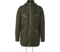 Brushed-cotton Twill Field Jacket