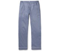 Marcel Mercerised Cotton Pyjama Trousers
