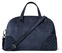 Studded Suede Holdall