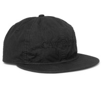Embroidered Tech-canvas Baseball Cap
