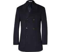 Double-faced Wool And Cashmere-blend Peacoat
