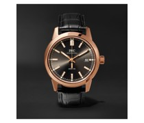 Ingenieur Automatic 40mm Red Gold and Alligator Watch, Ref. No. IW357003consbdiscoNET60