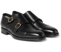 Wessex Leather Monk-strap Shoes