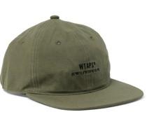 Logo-Embroidered Cotton and Nylon-Blend Baseball Cap