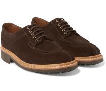 Percy Split-toe Suede Derby Shoes