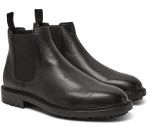 Full-grain Leather Chelsea Boots