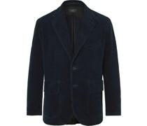 Wakelin Unstructured Cotton-Corduroy Blazer