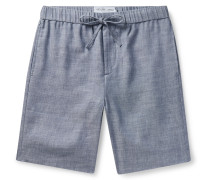 Felipe Slim-Fit Linen and Cotton-Blend Drawstring Shorts