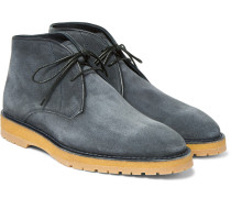 Brushed-suede Desert Boots