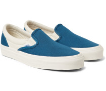 Og Classic Lx Two-tone Canvas Slip-on Sneakers