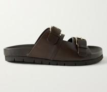 Florin Leather Slides