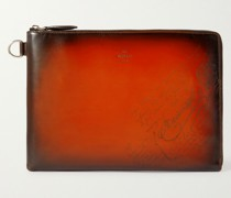 Scritto Leather Pouch