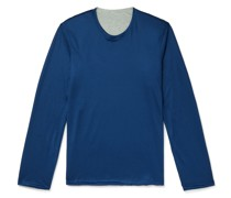 Reversible Virgin Wool and Cotton Sweater