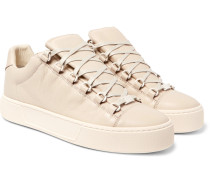 Arena Full-grain Leather Sneakers