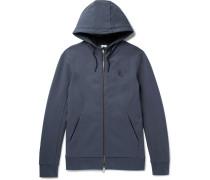 Nikelab Essentials Stretch-cotton Fleece Zip-up Hoodie