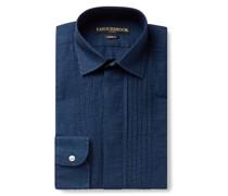 Bib-Front Linen Shirt