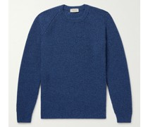 Upson Ribbed Recycled-Cashmere and Merino Wool-Blend Sweater