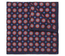 Printed Wool Pocket Square