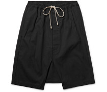 Pod Coated-cotton Shorts