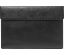 Article Cross-grain Leather Pouch