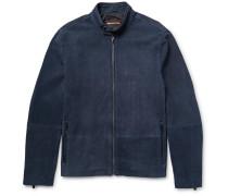 Perforated Nubuck Jacket