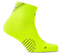 Elite Lightweight Quarter Dri-fit Running Socks