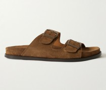 David Suede Sandals