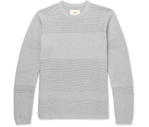 Fragment Ribbed Cotton Sweater
