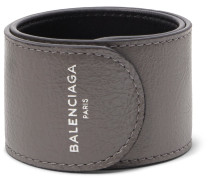 Cycle Arena Creased-leather Cuff