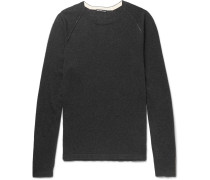 Slim-fit Cotton, Cashmere And Wool-blend Sweater