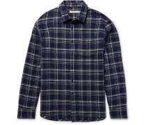 Eugene Checked Organic Cotton-flannel Shirt