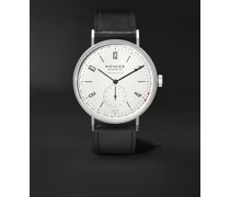 Tangente Neomatik 41 Automatic 41mm Stainless Steel and Cordovan Leather Watch, Ref. No. 182