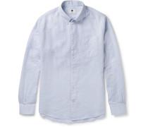 New Derek Button-down Collar Cotton Shirt